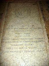 lucretiaborgiaGrave_of_Duke_Alfonso_I_d'Este,_Lucretia_Borgia,_etc__-_Ferrara,_Italy